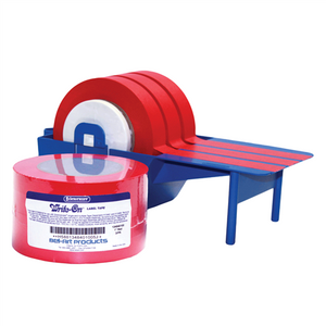 "Autoclavable Label Tape 40 Yds, Red 1/2"" wide, pack/6"