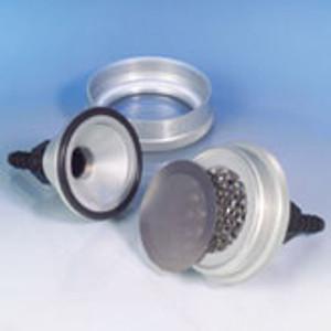 Anodized Aluminum Filter Holder, 47 mm Filter Diameter, Non-sterile