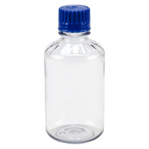 Boston Round Media, Polycarbonate, Narrow Mouth, 500mL, Case/12