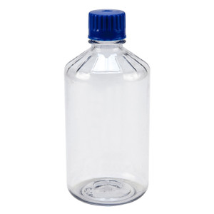 Boston Round Media, Polycarbonate, Narrow Mouth, 1000mL, Case/12