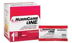 HurriCaine ONE®, Unit Dose Non-Aerosol Spray, 0.5mL, 25 per box