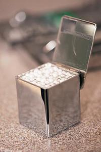 #1 Tiltop Pellet Dispenser, Chrome with Size 1 Pellets