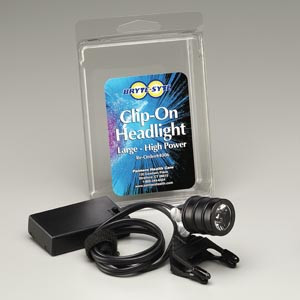 Clip-On Headlight, Includes One Set AAA Batteries