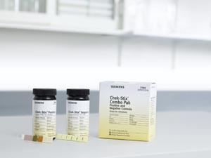 Chek-StixCombo Pak, Positive & Negative, 25/bottle, 2 bottle per pack