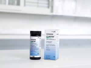 ClinitekMicroalbumin Reagent Test Strips, CLIA Waived, 25 per pack