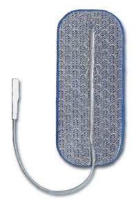"PALS Blue Electrode, 1-1/2"" x 3-1/2"" Rectangle, 4 per pack, 10 packs per bag, 1 bags per case"