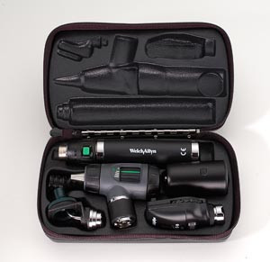 Diagnostic Set, Includes: Coaxial Ophthalmoscope