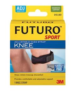 3M Knee Strap, Adjustable, One Size, 3 per pack, 4 packs per case