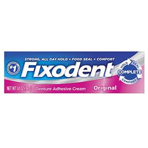 Fixodent Denture Adhesive, Original, 1.4 oz, 24 per case