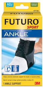 3M Ankle Brace, Adjustable, 2 per pack, 6 packs per case