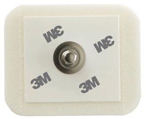 3M Monitoring Electrode, No Abrader, 4.4cm Dia, 50 per bag, 20 bags per case