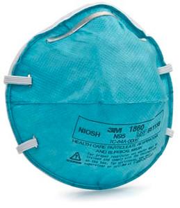 3M Regular Particulate Respirator Mask Cone Molded, 20 per box, 6 boxes per case