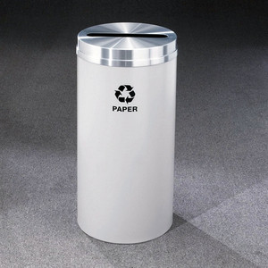 Recycling Bin, RecyclePro Waste Receptacle for Paper, 16 gal