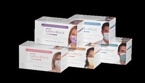 Earloop Mask, ASTM Level 1, Blue, 50 per box, 10 boxes per case