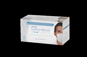 Earloop Mask, ASTM Level 2, Blue, 50 per box, 10 boxes per case