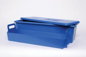 """Tray System, 20"""" x 7"""" x 5"""", 1 tray, Lid & Liner"""