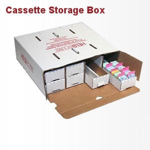 Biopsy Cassette Storage Box, Unassembled, case/10