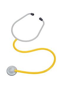 3M Single Patient Stethoscope, Yellow Tube, Pediatric, 10 per box, 4 boxes per case