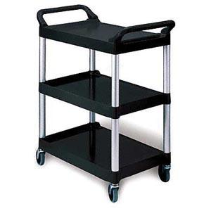 3424 Utility Cart, Black