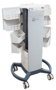 Professional Series Therapy Cart, Compatible only with InTENSity EX4 & CX4 Models, 6 Month Warranty