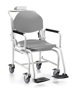Digital Chair Scale, Foldable Foot Rest, Folding Seat Back and Arm Rests,