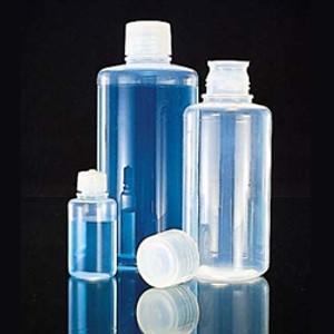 500mL PFA Bottle, Narrow Mouth, with PFA Closure, Each