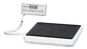 Digital Floor Scale with Remote Display & Serial Port, Power Adapter ADPT40 Included, 400 lb Capacity
