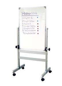 "Whiteboard, 22""W x 34""H x 1""D, Frame 32""W x 57""H x 27""D"