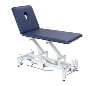 Treatment Table, 2-Section, Imperial Blue