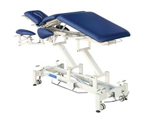 Treatment Table, 7-Section, Imperial Blue
