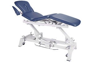 Treatment Table, 4-Section, Imperial Blue