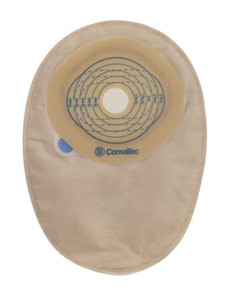 """Closed-End Pouch, 8"""", 2-Sided Comfort Panel, Cut-to-Fit Modified Stomahesive Skin Barrier, Filter, Opaque, 13/16"""" - 2-3/4"""" Stoma, 30 per box"""