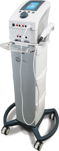 Electrotherapy & Ultrasound System, Comes with: Therapy Cart, CX4 Device, AxelgaardElectrodes
