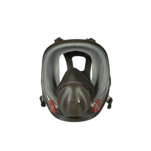 3M Respirator, Full Facepiece, Medium, 4 per case
