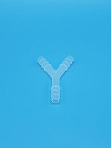 """Y Connector, 8-11mm, 3/8"""", Clean, 50 per box, 500 per case"""