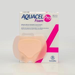 "Foam Pro Dressing, Adhesive, Sacral, 5"" x 6 3/4"", 5 per box"