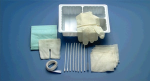 Tracheostomy Care Set, Extra Towel & 2 Extra Pipe Cleaners, 24 per case