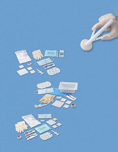 Central Line Kit, TegadermDressing & ChloraPrepOne-Step Applicator, Sterile, 30 per case