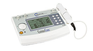 E-Stim and Ultrasound Professional Device, Comes Complete with: 5cm² Ultrasound Wand, Either Sets of Electrodes, Four Sets of Rubber Electrodes with Sponges, Two Elastic Straps, Two Sets of Lead Wires, One Combination Therapy Lead Wire, Power Cord, and User Manual, Basic Assembly Required, 2 Year Warranty