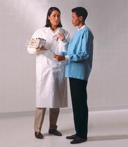 Lab Coat, White, Small, 25 per case