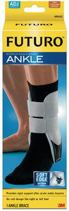 3M Ankle Brace, Adjustable, One Size, 2 per pack, 6 packs per case