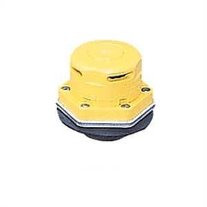 Justrite® Non-metallic drum vent with flame arrester for petroleum