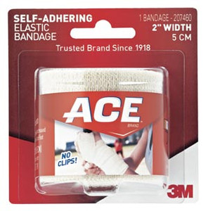 "3M 2"" Athletic Bandage, Self-Adhesive, 72 per case"
