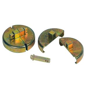 Justrite® Security Drum Locks for Plastic Drums, case/2