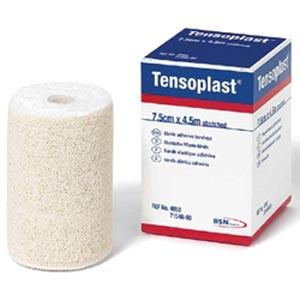 "Elastic Adhesive Bandage, 4"" x 5 yds, White, 1 Rolls per box, 36 boxes per case"