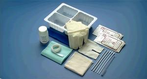 Tracheostomy Care Set, Hydrogen Peroxide, 1 pair Gloves, 1 Drape, Sterile, 20 per case
