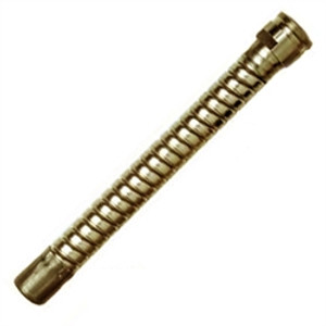 Justrite 08584 Flexible Faucet Hose Extension, Brass
