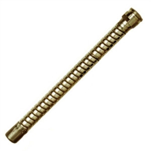 "Justrite® Brass Flexible Faucet Extension, 8"""