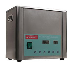 Ultrasonic Cleaner with Heat, 5 Liter, Capacity: 5L/1.32 Gal, Includes Stainless Steel Hanging Basket