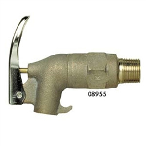 Justrite 08955 Brass Drum Faucet without screen